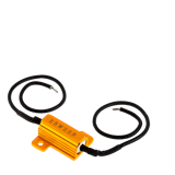 UNIVERSAL RESISTORS WITH CLIPS - 10W - 10 OHMS (PACK OF 2)