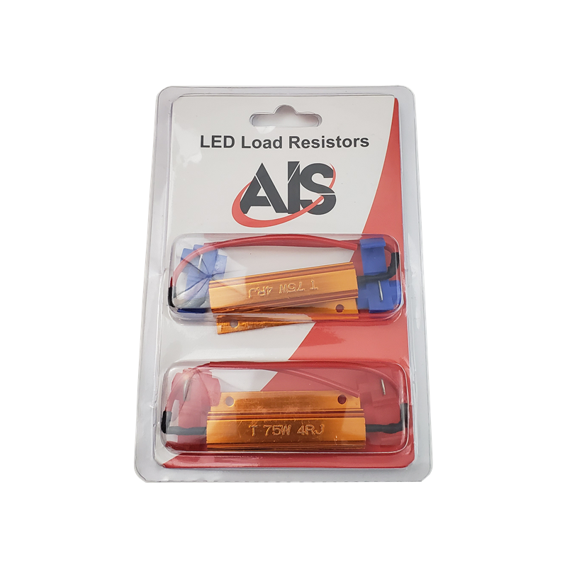 UNIVERSAL RESISTORS WITH CLIPS - 35W - 12 OHMS (PACK OF 2)