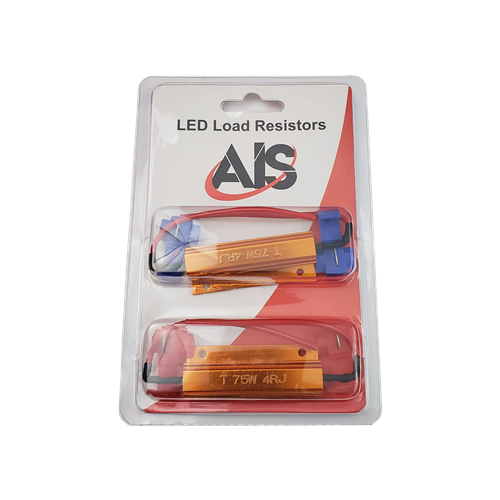 UNIVERSAL RESISTORS WITH CLIPS - 75W - 4 OHMS (PACK OF 2)
